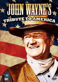 John Wayne's Tribute to America - (Region 1 Import DVD)