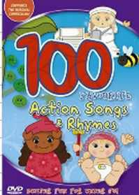 100 Favourite Action Songs and Rhymes - (DVD)