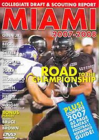 Miami 2007-2008 - (Region 1 Import DVD)