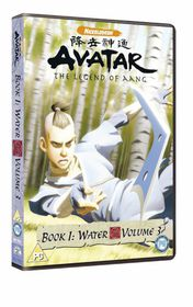 Avatar - The Legend Of Aang - Book 1 - Water Vol.3 - (Import DVD)