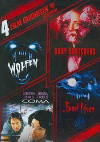 4 Film Favorites:Horror - (Region 1 Import DVD)