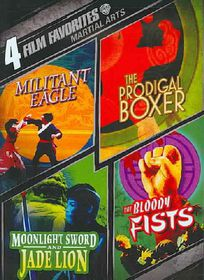 4 Film Favorites:Martial Arts - (Region 1 Import DVD)