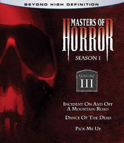 Masters of Horror:Season One Vol 3 - (Region A Import Blu-ray Disc)