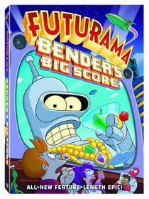 Futurama The Movie: Bender's Big Score - (Region 1 Import DVD)