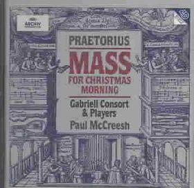 Praetorius:Mass for Christmas Mornin - (Import CD)