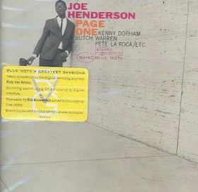 Joe Henderson - Page One (CD)