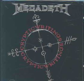Megadeth - Cryptic Writings - (EMI Import CD)