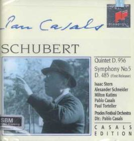 Pablo Casals - Quintet In C / Symphony No. 5 (CD)