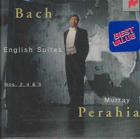 Murray Perahia - English Suites Nos.2, 4 & 5 (CD)