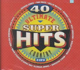Ultimate Country Super Hits - Various Artists (CD)
