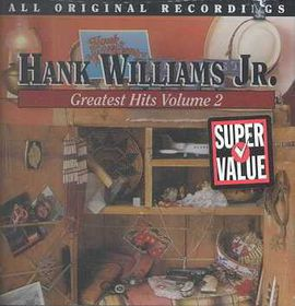 Hank Williams Jr. - Greatest Hits - Vol.2 (CD)
