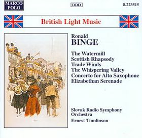 British Light Music Project - (Binge) - (CD)