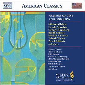 Psalms Of Joy And Sorrow - Various Artists (CD)