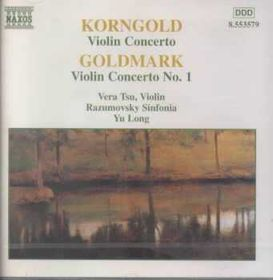 Korngold/Goldmark:Violin Concertos - (Import CD)