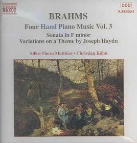 Matthies / Kohn - Piano Music For 4 Hands Vol. 3 (CD)