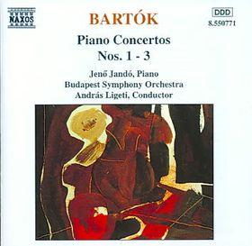 Jeno Jando - Piano Concertos Nos. 1 - 3 (CD)