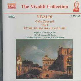 Raphael Wallfisch / City Of London Sinfonia - Cello Concertos Vol. 1 (CD)