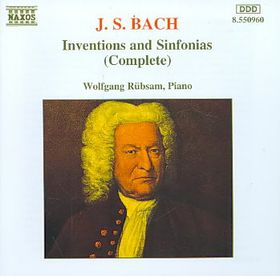 Bach J S - Inventions & Sinfonias-Rubsam,Piano (CD)