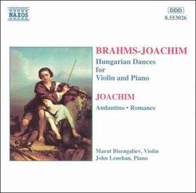 Bisengaliev - Hungarian Dances For Violin & Piano / Andantino / Romance (CD)