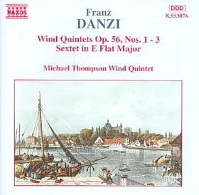 Michael Thompson / Wind Quintet - Wind Quintets Op. 56 Nos. 1 - 3 / Wind Sextet (CD)