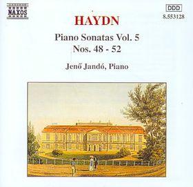 Jeno Jando - Piano Sonatas Nos. 48 - 52 (CD)