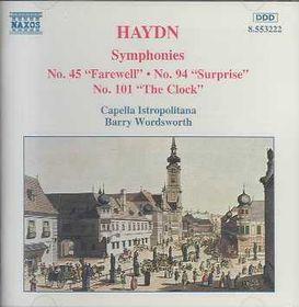 Symphonies Nos.45, 94 & 101 - Various Artists (CD)