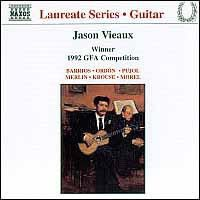 Jason Vieaux - Guitar Recital (CD)