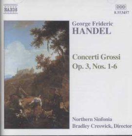Concerti Grossi Op.3 Nos.1-6 - Various Artists (CD)