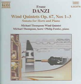 Philip Fowke - Wind Quintets Op. 67 Nos. 1 - 3 / Sonata For Piano & Horn (CD)