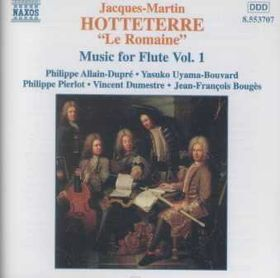 Hotteterre - Flute Music Vol 1 (CD)