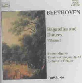 Beethoven - Piano Pieces Vol.3 Jando (CD)