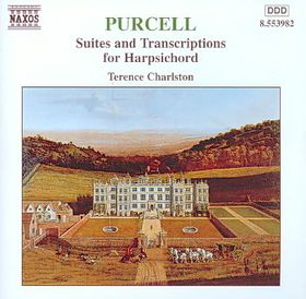 Terence Charlston - Suites For Harpsichord (CD)