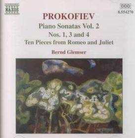 Prokofiev - Piano Sonatas Vol 2 Glemser (CD)