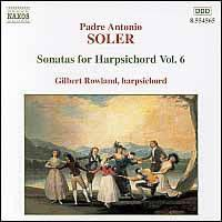 Gilbert Rowland - Harpsichord Sonatas - Vol.6 (CD)