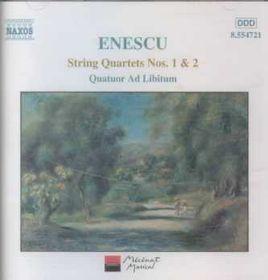 Ad Libitum Quartet - String Quartets Nos.1 & 2 (CD)
