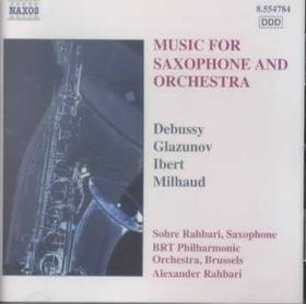 Saxophone Concertos - Various Artists (CD)