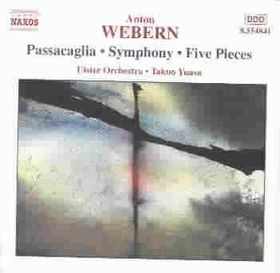 Webern - Orchestral Music Passacaglia,5 Pieces (CD)