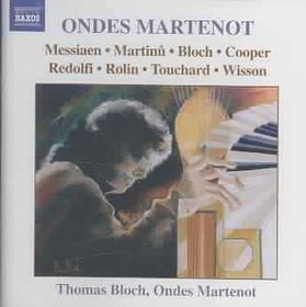 Various Composers - Music For Ondes Martenot;Bloch (CD)