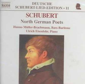 Schubert - Lieder:North German Poets;Muller-Brachma (CD)