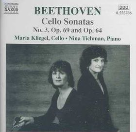 Beethoven - Cello Sonatas;Kliegel,Tichman (CD)