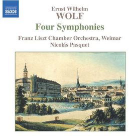 Wolf - Four Symphonies (CD)