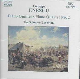 Enescu - Piano Quintet,Piano Quartet No.2;Saunder (CD)