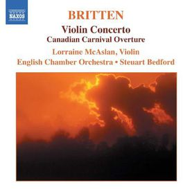 Britten - Violin Concerto (CD)