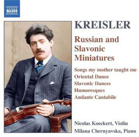 Kreisler - Russian & Slavonic Miniatures (CD)