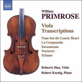 Primrose William - Viola Transcriptions (CD)