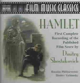 Russian - Shostakovich: Hamlet Cpte (CD)