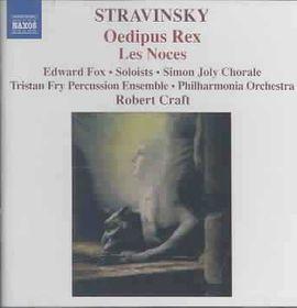 Stravinsky - Oedipus Rex (CD)