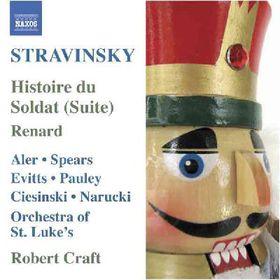 Stravinsky:Histoire Du Soldat (Suite) - (Import CD)