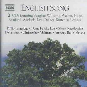 Various Composers - English Song;Bedford/Johnson (CD)