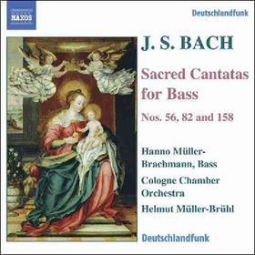 Bach Johann Sebastian - Sacred Cantatas For Bass (CD)